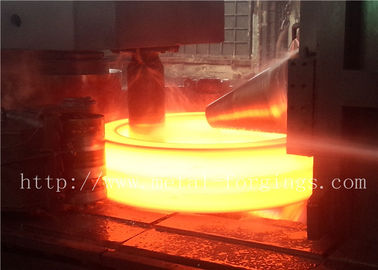 China F316Ti Seamless Forged Steel Rings  ASTM ASME Proof machining supplier