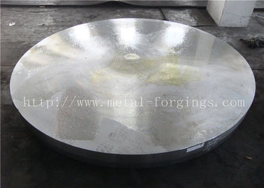 China F304L Stainless Steel Forged Disc Finish  Machined Standard Or Non-standard Heat Exchanger Pressure Vessel supplier