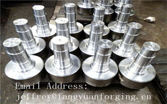 China 17CrNiMo6 31CrMOV9 Alloy Steel Forged Shaft  Heat Treatment And Machined supplier