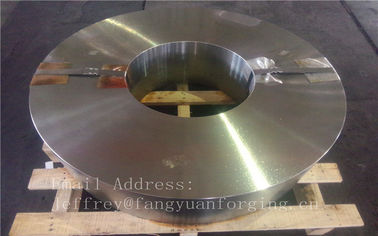 China Hot Forged Aloy Steel Forged Wheel Blanks Rough Machined High Tolerance supplier