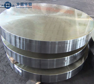 China Protroleum Chemical  Alloy Steel Forged Round Metal Discs OD 1200mm distributor