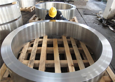 DIN 34CrNiMo6 Hot Rolled  Forged Steel Rings Hardness 30HRC - 40HRC Customized , Round Steel Blanks