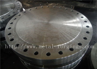 P355QH EN10273 Carbon Steel Forged Disc  Pressure Vessel Blank Flange
