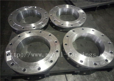 ANSI ASME Duplex stainless steel forged flanges For Ball Valve