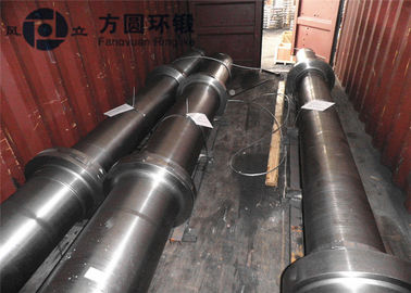 Alloy / Carbon Steel Marine Shaft Steel Blanks With Rough Machining