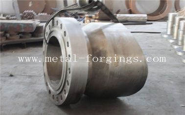 China SA350LF2 A105 F316L F304L Forged Steel Products Electrode Cutting Stainless Steel Forged Flange factory