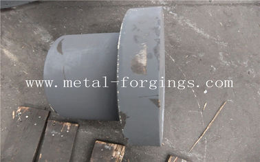 China Open Die Forging Of Ball Valve Cover Balls Flange Gear Shaft Mechanical Parts factory