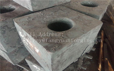 China Carbon Steel Forged Block Heat Treatment  Milled JIS S45CS48C DIN 1.0503 C45 IC45 080A47 CC45 SS1650 F114 SAE1045 factory