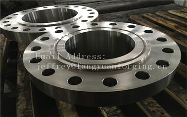 China ASME B16.5 WN A350 LF6 Forged Carbon Steel Flange With Nice Packing Or Un-standard Flange distributor