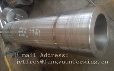 China DIN 17CrNiMo6 ,18CrNiMo7-6 Anealing Forged Sleeves / Hollow Shaft Heat Treatment distributor