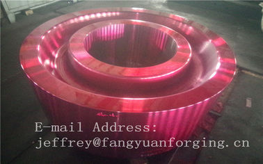 China ASTM AISI  DIN 36CrNiMo4 JIS SNCM439 Forged Gear Blank Internal Gear RIng Blanks Alloy Steel distributor