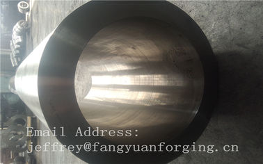 China St52-3 forged steel rings Hot Rolled Sleeve Forged Cylinder 3000mm length factory