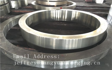 Pressure Vessel Stainless Retain Forged Steel Rings Heat Treatment