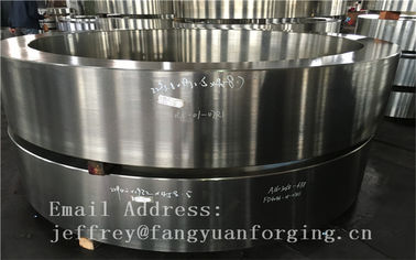 SCM440 Alloy Steel Forged Gear Blanks 42CrMo4 1.7225 AISI4140 ABS DNV BV RINA NK Tempering Rough Machining