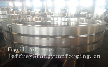 China DIN JIS Stainless rolled steel rings Heat Treatment And Machined distributor