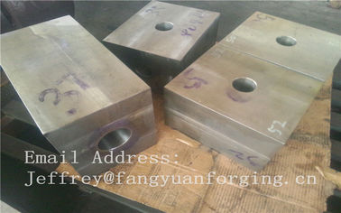 China SA182 F316 F304 SForged Steel Products Forgings Block Solution Milled And Drilling distributor