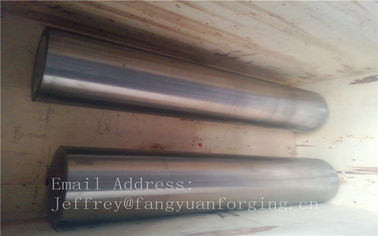 China Stainless Steel Forging Round Bar Rough Machined , Custom Forgings factory