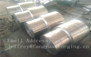 China Alloy Steel Forged Shafts Blank C35 C45 42CrMo4 36CrNiMo4 4330 34CrNiMo6 4140 SNCM439 BS816M40 4130 4340 factory