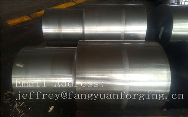 China 42CrMo4 SCM440 AISI 4140 Alloy Steel Forged Shaft Blanks Quenching And Tempering Rough Machining distributor