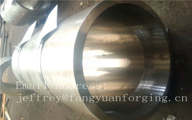 China S S Forged Steel Products / Forged Ring Flange Cylinder With Machining factory