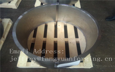 China Stainless Steel Forging Ring  Forging Annealing PED Certificate factory