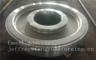 China EN JIS ASTM AISI BS DIN Forged Wheel Blanks Parts Grinding Wheel Helical Ring Gear Wheel distributor