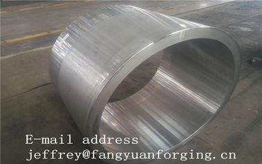 China JIS EN ASME ASTM Hydraulic Cylinder Bushing Sleeve Forged C45 4130 4140 42CrMo4 4340 Rough Machined And UT distributor