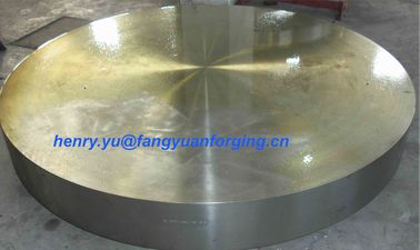China Tube Sheet Double Stainless Steel Forged Disc 1.4462, F51, S31803; F60, S32205; F53, S32750 distributor