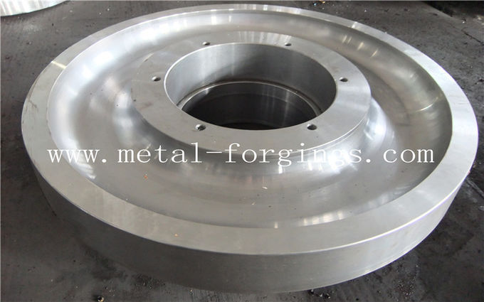 42CrMo4 SCM440 1.7225 AISI4140  Forged Round Bar Quenching And Tempering Rough Turned